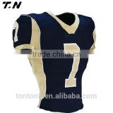 Blank american football jerseys/ Cheap american football jersey custom / American football uniforms