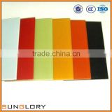 Black, White, Red Customized color Painted Glass