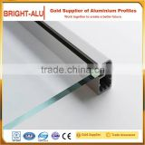 Lowest price of aluminium frame sliding window for double glass windows with 1.4mm wall thickness profile