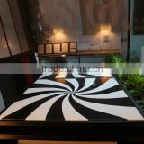 Korean marble acrylic solid surface table tops