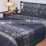 3d transfer printed satin for bed sheet