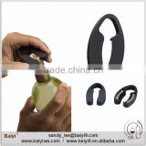 Plastic foil cutter remover. wine foil cutter for kitchen