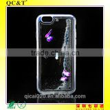 hot sale TPU+PC Case Quicksand Liquid Hard Cover Case for iphone 6s 3d liquid quicksand case