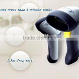 1D Portable Wireless Bluetooth Barcode Scanner for iOS, Android and windows-base mobile and tablet devices