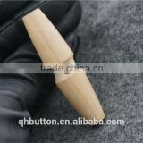 CHINESE WENZHOU BUTTON WHOLESALE WOOD NATURE TOGGLE BUTTON FOR GARMENT