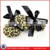 Baby Girl Toddler Leopard Soft Sole Walking Shoes Sneaker Newborn 0-18 Months