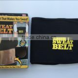 AS SEEN ON TV SWEAT BELT PREMIUM WAIST TRIMMER THE BELT THAT MAKES YOU SWEAT
