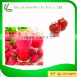 factory suppply strawberry extract powder 4:1 10:1,100% Natural strawberry powder extract