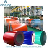 pre-painted galvanized steel coil, colored copper coil for sale, professional manufacture zinc coated coil