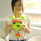 "China Tennis Balls Game Authorization Customize Made 11"" Mascot Lina Stuffed Plush Doll"