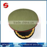 China security cap/pilot peaked cap with 3cm thickness foam