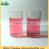 Wholesale votive glass jar candle for wedding decorative