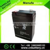 6v4ah storage lead acid batteries for electronic scales, 6volt small rechargeable batteries