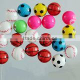 hot 2016 small solid rubber material super bouncy ball,skip ball,bouncy ball Type racquetball