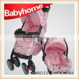 EN1888 name brand baby stroller with car seat