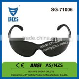 Industrial ce en166f certification safety glasses, eye protective safety glasses defensing safety spectacles