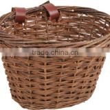 Willow Hot sale custom bike baskets,custom size wicker basket,black wicker baskets