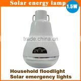Factory wholesale waterproof solar panel energy saving LED solar lighting for garden