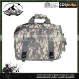 Wholesale of Army military tactical bag Digital Camouflage camping luggage hand bag laptop bag with 600D polyester