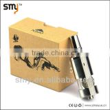 2014 genesis style stainless steel kraken tank clone match e cig chiyou mod,nemesis mod, king and bagua mod
