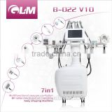 Body Slimming Machine Multfunctional Vacuum Cavitation System Velashape Machine Fat Reduction For Body Slimming And Face Lifting