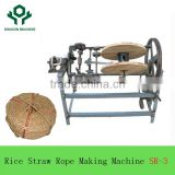 2017 Steady Structure farm tools Semi Auto Grass/Rice/Wheat/Corn stalk Straw Rope Making Machine