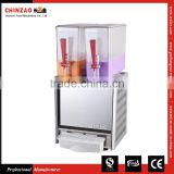 Commercial 2Tank Electric Cold and Mixing Juice Dispenser Machine