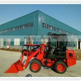AS908 small wheel loader CS908 hydrostatic with 4-way quick hitch and variable piston pump