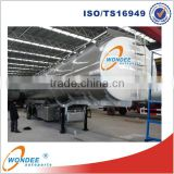 Propane LPG Tanker Trailer of 3 Axle 45m3 LPG Tank Trailer for Sale
