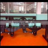 Square Tube Axle Germany BPW Type Thickness 12mm Semi Truck And Traiers Leaf Spring Suspension