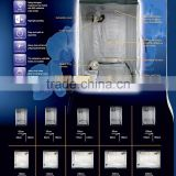 Dark plant growing room / strong light proof water proof grow tent with ventilation and tubes for hanging lighting equipments