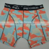 Men's boxer short underwear with all over print