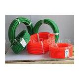 Industrial 12mm Polyurethane Round transmission Belt Orange or Green for Packing Machine