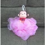 shenzhen Cartoon Monkey bath lily / Mini Segment Lily Mesh Ball gifts