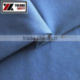 wholesale NFPA2112 high tear strength fireproof 9oz cotton/nylon royal blue woven anti arc fabric for fireman