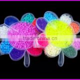 Flower shaped box EVA material diy perler beads ideas