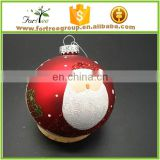 wholesale clear glass ornaments christmas ball