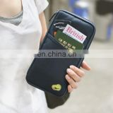 Rfid Blocking Passport Holder Organizer Wallet Travel Pouch