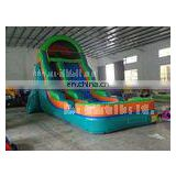 2013 Hot inflatable wet/dry slide