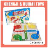 Hot selling middile size ludo board game set for kids