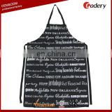 Hot selling full color printed custom made aprons