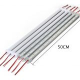 10pcs*50cm DC12V 5730 LED Hard Strip LED Bar Light 5730 5630 with U Aluminium shell +pc cover