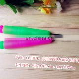 High quality plastic rubber handle crochet hook circular knitting needles handle sewing hook