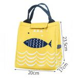 tote handle cooler bag with waterproof polyester fabric
