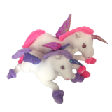 Plush animals toy unicorn with wings