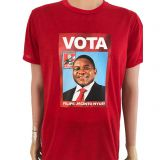 120GSM polyester election T-shirt for political campaign