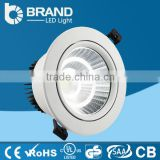 Small order acceptted 36w Up and down cob led downlight for wall led downlight recessed mounted dimmable downlight led                                                                                                         Supplier's Choice