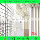 Interior decorative brick walls glass with artificial wall covering effect with ISO CCC CE