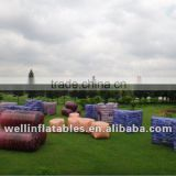 OEM bunker field inflatable paintball for sale