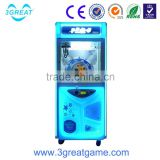 Attractive arcade gift machine toy grabbing machine